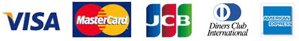 アメリカンエキスプレス・マスターカード・VISA・DCカード・JCBカード・ニコス