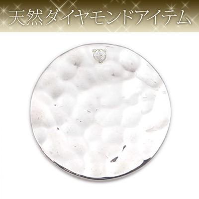 【dagdart GOLF】 天然ダイヤモンド×シルバーボールマーカー [DG-056]