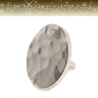【dagdart GOLF】 天然ダイヤモンド×シルバーボールマーカー(軸つきタイプ) [DG-057]