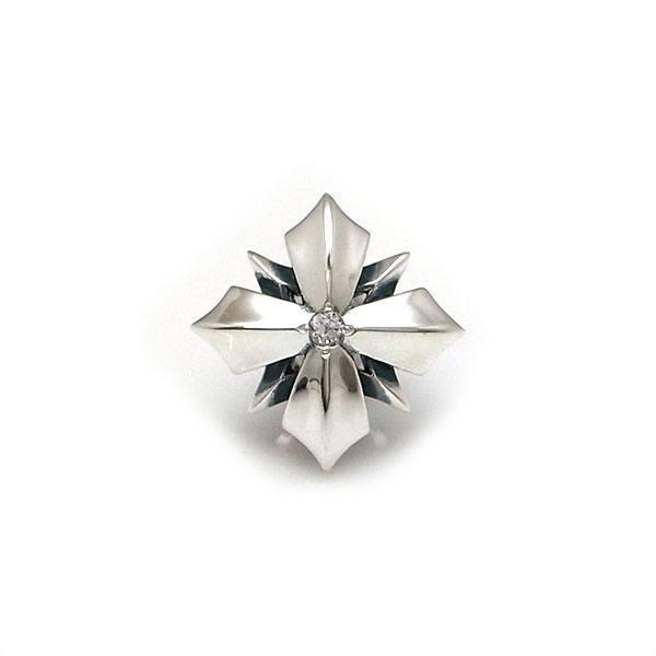送料無料 【Glass】 選べる誕生石 シルバーラペルピン [DK-079]