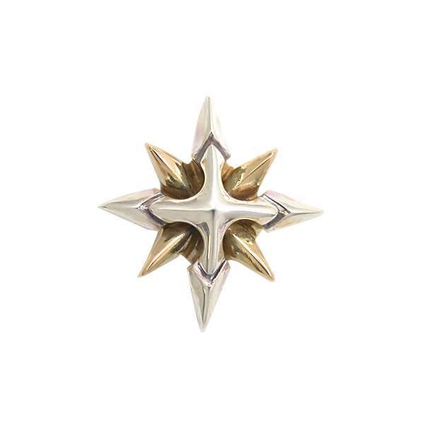 送料無料 【Shining Crystal】 ゴールド×シルバーピアス [DP-060G]
