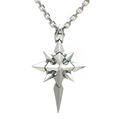 【Shining Crystal】 シルバーペンダント [DT-231]
