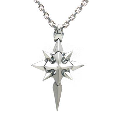 送料無料 【Shining Crystal】 シルバーペンダント [DT-231]