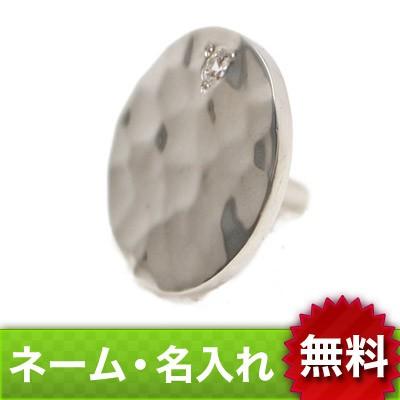 【dagdart GOLF】 キュービックジルコニア×槌目シルバーボールマーカー [MS-022]
