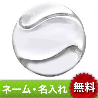 【dagdart GOLF】 シルバーボールマーカー [MS-027]