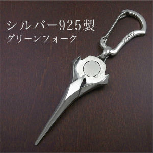 【dagdart GOLF】 シルバーグリーンフォーク [MS-018]