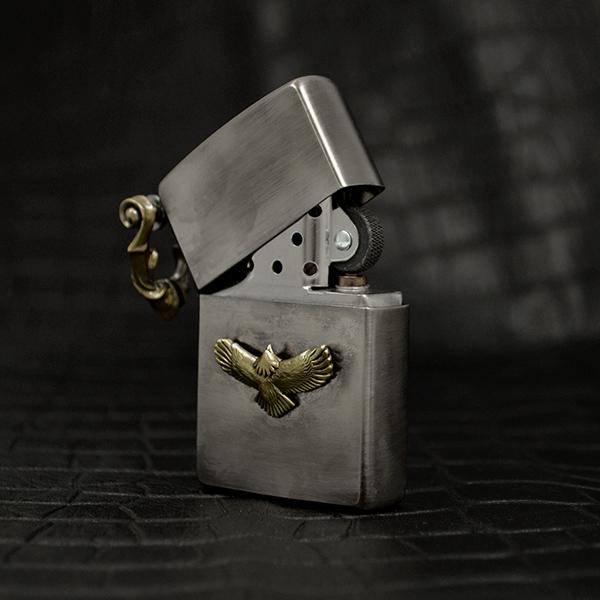 オフィシャルサイト1点限定販売◇カスタムZIPPO 真鍮製 [OM-010]