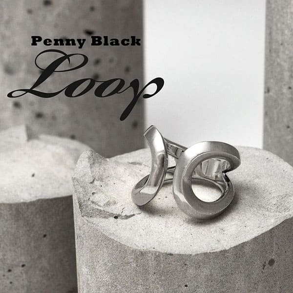 【送料無料】 PennyBlack シルバーリング レディス 指輪 ループ ギフト P-038